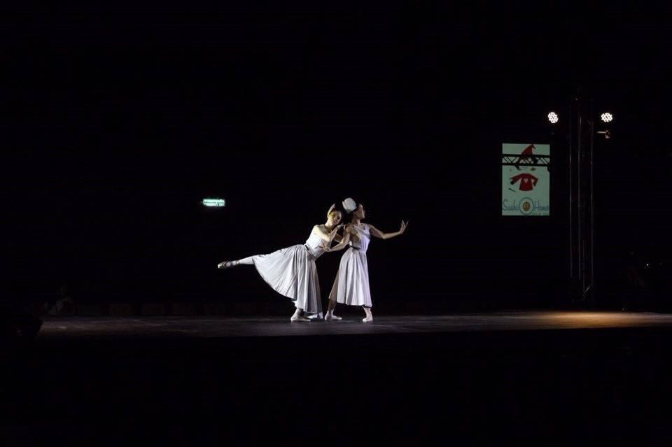 การแสดงจาก IDEO PERFORMING ARTS Choreography by ครูเปิ้ล ผู้บริหารสถาบัน