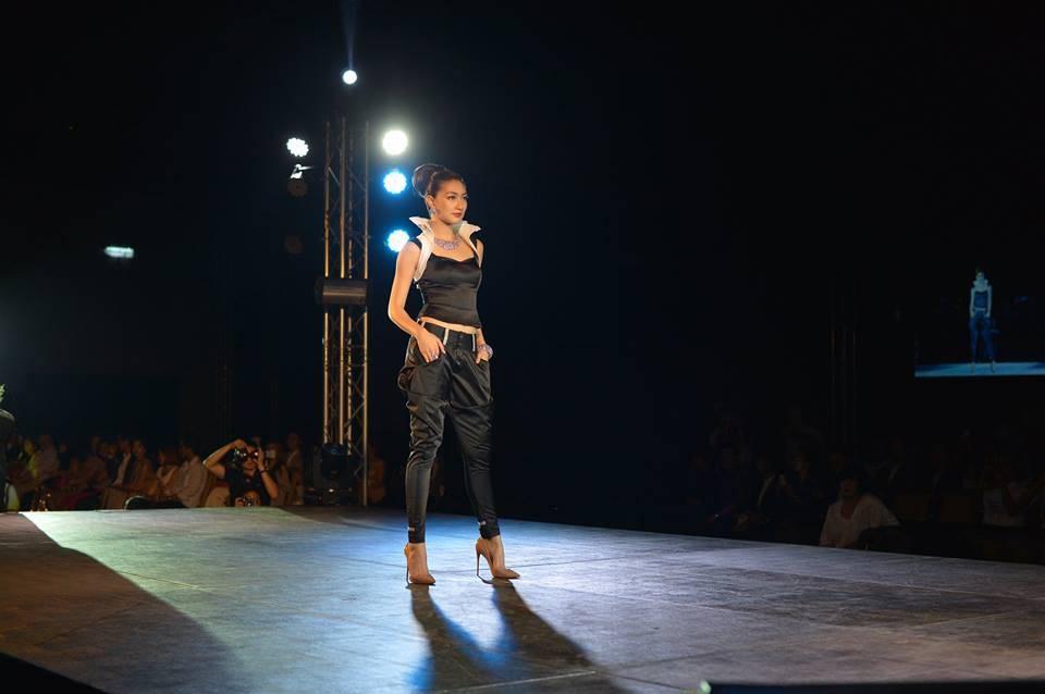 คุณแพนเค้ก ร่วมเดิน Fashion Show ในงาน Perfect Soul for Beautiful World at Paragon Hall